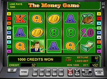 The Money Game онлайн в казино