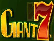 Гигантская Семерка онлайн на деньги в казино