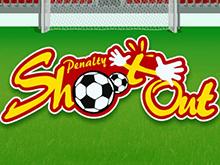 Щедрые выплаты, бонусные символы в Penalty Shootout